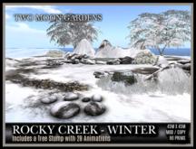 TMG - ROCKY CREEK IN WINTER*