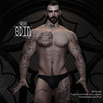 Sköll - Odin tattoo