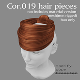 *booN Cor.019 hair pieces all color pack