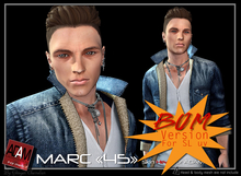 *!*Adam-skin head Marc 45 BOM -- wear to unpack