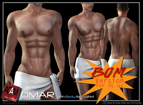 *!*Adam-skin body - Omar BOM