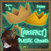 [ARTIFACT] Plastic Crowns DULL/BRIGHT
