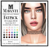 MAVANTI - Forever Lace Choker [FATPACK & OpenCollar Version]