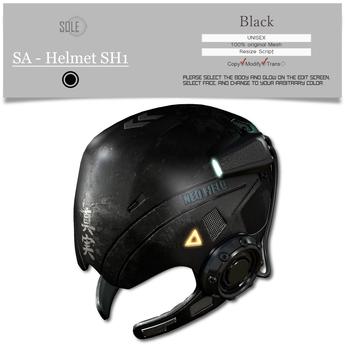 :::SOLE::: SA - Helmet SH1 (Black)