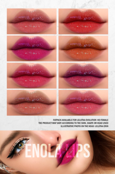 MORGENSTERN: ENOLA LIPS PACK 2 [LELUTKA EVO HD FEMALE]