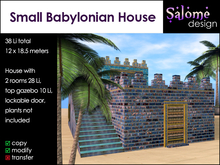 Small Babylonian House Sales Box