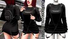 Demon Doll - Overdose Sweater Black