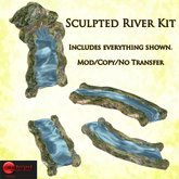Sculpted River kit BOXED