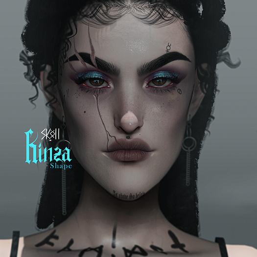Sköll - Kinza shape //Lelutka Erin 2.5(Boundless version)