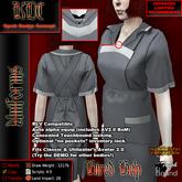 KDC Hired help uniform - grey