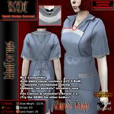 KDC Hired help uniform - blue