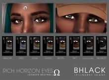 LEIJIN // BHLACK :: Rich Horizon Contacts - SUPREME