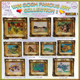 So Silly VanGogh Collections BOX - Grapes Lemons Pears & Apples