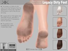 *KUNDALA* Dirty Feet BOM (Legacy)