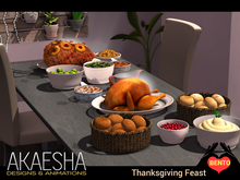 Bento Thanksgiving Feast Bundle (Akaesha Catering)