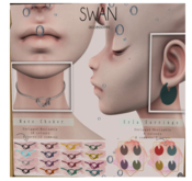 Swan Mare Choker_wine