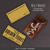 LeMomo: Willy Wonka Chocolate Bar
