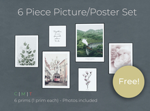 FREE 6 Piece Portrait Poster/Picture Set - L$0 ! (M/C)