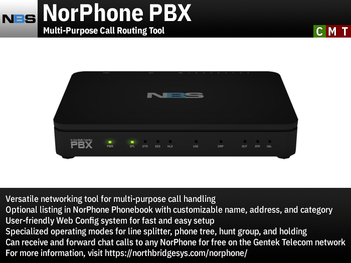 NBS NorPhone PBX