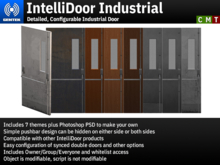 IntelliDoor Industrial - Detailed, Configurable Industrial Door