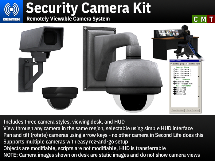 Security Camera Kit - Easy-To-Use Remotely Viewable Camera System