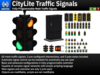 CityLite Traffic Signal Pack - Fully-Programmable Mesh Traffic Signals