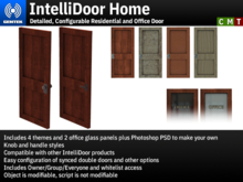 IntelliDoor Home - Detailed, Configurable Residential/Office Door
