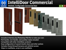 IntelliDoor Commercial - Detailed, Configurable Commercial Door