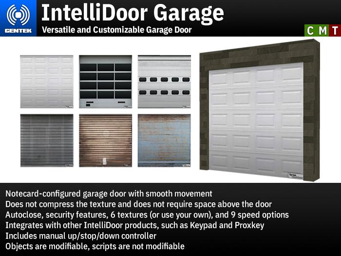 IntelliDoor Garage - Versatile Garage Door