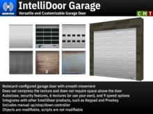 IntelliDoor Garage - Versatile Garage Door