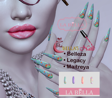 LaBella Yummy Nails  Belleza/Legacy/Maitreya (add me )