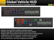 Global Vehicle HUD - Latest Version for GVHUD-Compatible Vehicles