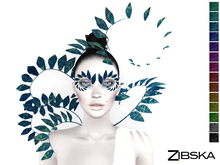 Zibska ~ Venna Color Change Headpiece, Collars and Brows