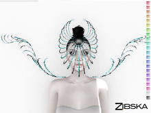 Zibska ~ Acantha Color Change Mask and Shoulders
