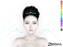Zibska ~ Astera Color change Circlet and Shoulders