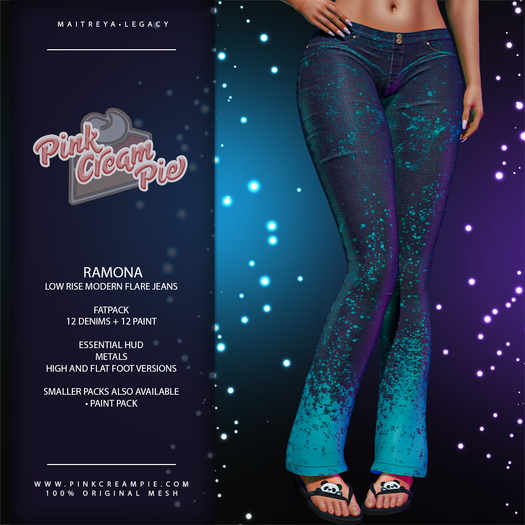 !PCP :: Ramona Jeans [FATPACK]