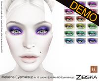 Zibska ~ Melaena Eyemakeup for Lelutka HD Demo