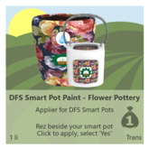 DFS Smart Pot Paint - Flower Pottery