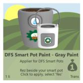 DFS Smart Pot Paint - Gray Paint