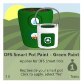 DFS Smart Pot Paint - Green Paint