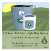 DFS Smart Pot Paint - Light Blue Pottery