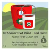 DFS Smart Pot Paint - Red Paint