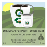 DFS Smart Pot Paint - White Paint