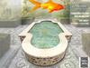 Gold, fish, pond