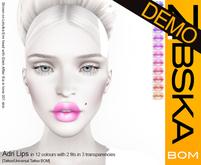 Zibska BOM Pack ~ Adri Lips Demos [tattoo/universal tattoo BOM]