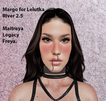 Shape Manya - Margo for Lelutka River 2.5 head.