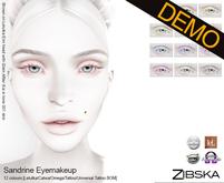Zibska ~ Sandrine Eyemakeup Demos [lelutka/catwa/tattoo/universal tattoo BOM]