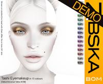 Zibska Bom Pack ~ Tashi Eyemakeup Demos [tattoo/universal tattoo BOM]