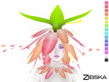 Zibska ~ Corin Color Change Headpiece and Collar