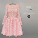 BEO - Angelica short gown ROSE